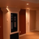 Custom Basement cabinets